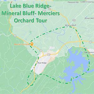 lake blue rdige bluff orchard tour